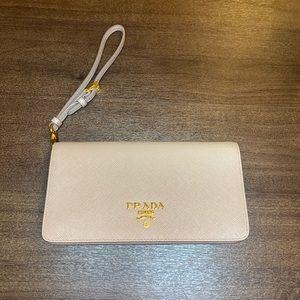 Authentic Prada Saffiano leather mini bag